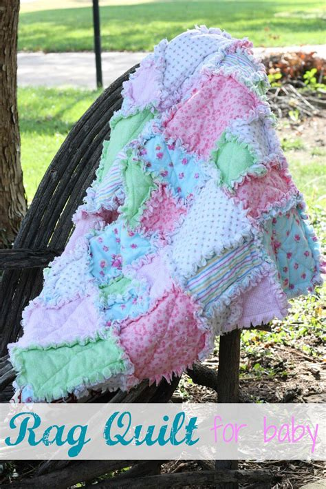 Rag Quilts On by Make It Rag Quilt For Baby I Can Teach Child
