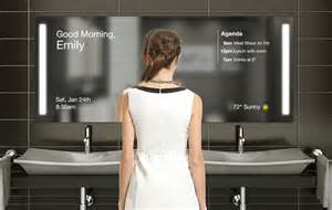 bathroom smart mirror make a smart mirror 5 diy projects to get a sci fi