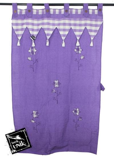 Celana Bordir Motif Bunga gorden pintu tenun motif bunga bordir batik tirai pintu