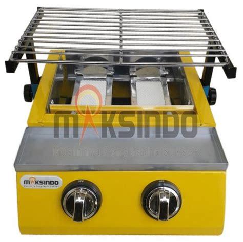 Jual Pemanggang Roti Jogja jual mesin pemanggang sate bbq 2 tungku gas di