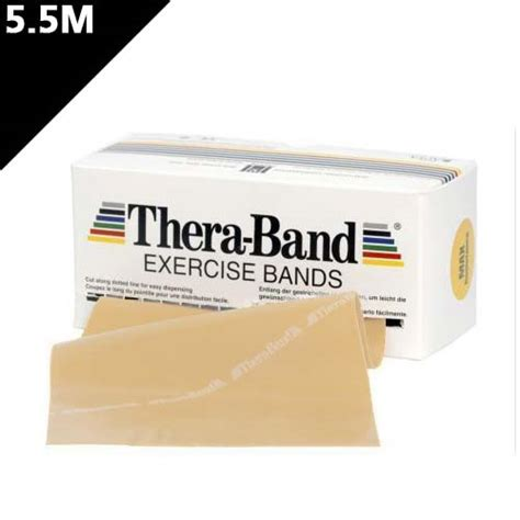 extra light resistance bands thera band resistance band extra light 5 5m thera
