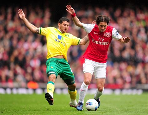 arsenal norwich highlights arsenal 3 3 norwich gunners grip on third slackened by
