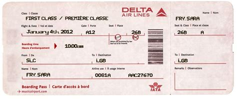 fake airline ticket for surprising kids i m using this