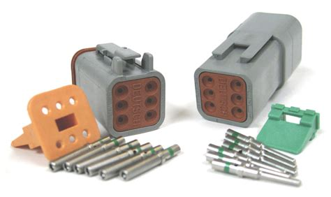 Connection Kit ldtk 6 dt series 6 pin connector kit 16 20 awg performance plus connection supplier