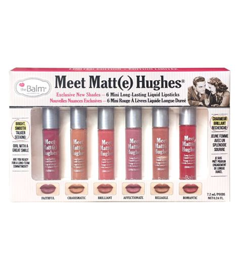 comprar the balm mini kit batons l 237 quido meet matt e