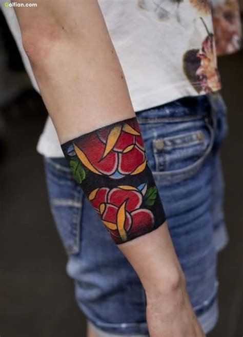 tattoo flower band 60 awesome armband men tattoo designs best arm tattoos