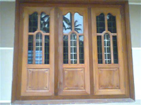 Front Wood Window Design