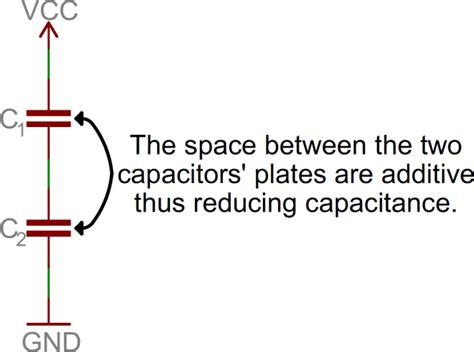 capacitors in series and parallel tutorial series and parallel circuits learn sparkfun