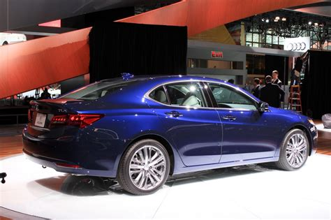 2015 acura tlx 2014 new york auto show live photos