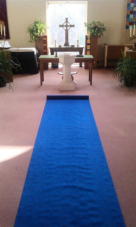 50ft Deluxe Dark Blue Fabric Wedding Aisle Runner   eBay