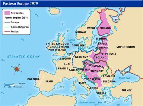 europe map 1919 europe 1914 map quiz