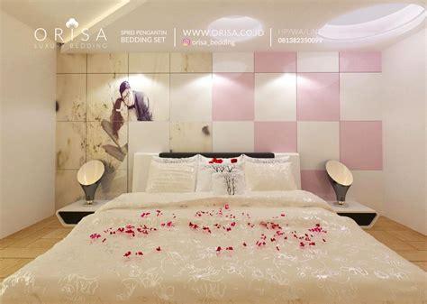 Sprei Pengantin Mewah Kingkoil 160182 sprei dekorasi kamar pengantin orisa luxury bedding