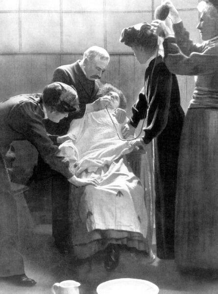 Force-Feeding Suffragettes 1912   #11250337   Topfoto