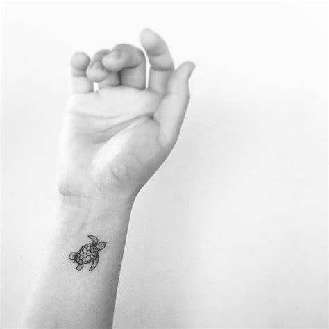 small turtle tattoo ideas delicate small baby turtle on the wrist self