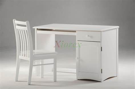 Solid Wood Bed Night And Day Saffron Bed White Cherry White Student Desk Chair