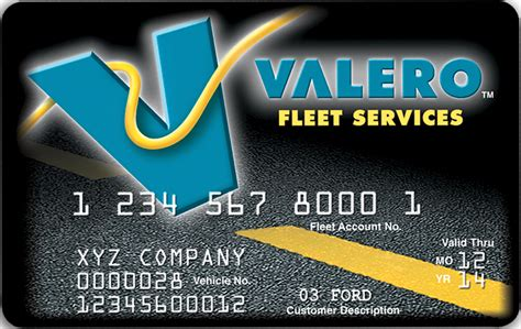 Valero Gift Card - valero fleet credit card programs