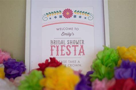 Cinco Shower by Cinco De Mayo Bridal Shower Kara S Ideas