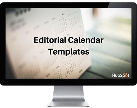2017 Editorial Calendar Templates Hubspot Editorial Calendar Template