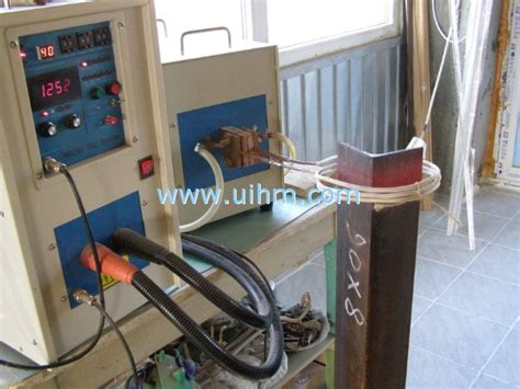 induction heating l induction heating l shape steel with l shape induction coil united induction heating machine