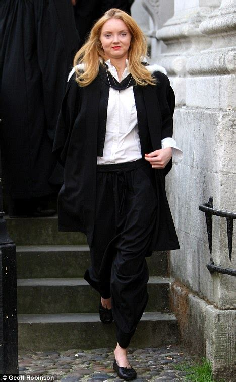lily cole  chic   graduation gown  cambridge