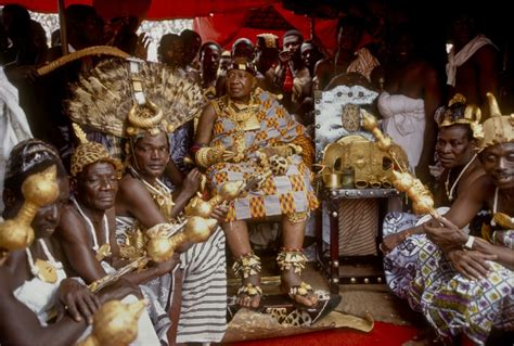 The Ashanti Golden Stool by Ashanti Of Ashanti Mothers Kingdom