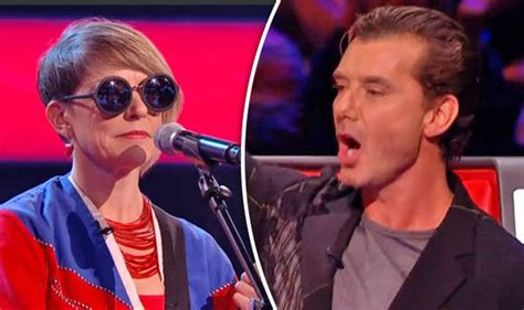 other long haired dude on the voice thevoiceuk gavin rossdale snubbed by contestant after