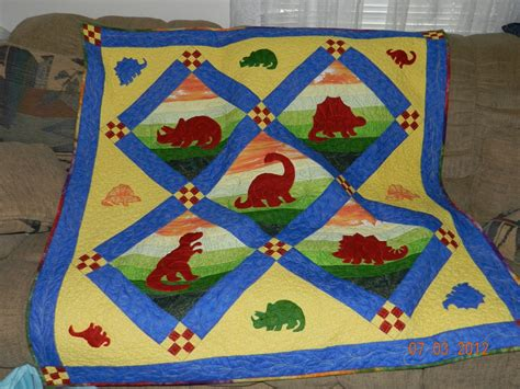 Dinosaur Quilt Patterns For Free by Dinosaur Quilt