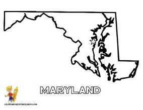 Maryland Map By County Outline by Geography Maryland Outline Maps