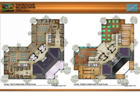 wellness center floor plan thyrovive wellness center furniture floor plans archinect