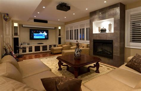 Cool Basement Pictures Finished Basement Ideas