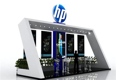 stand hp robot original hp expo stand by miguel perez olmedo at coroflot