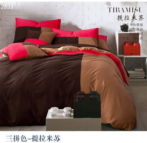 chocolate bed linen chocolate brown duvet cover promotion shop for promotional