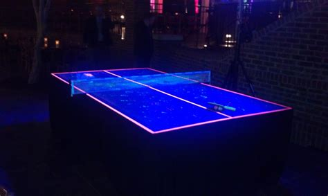 black light outdoor blacklight ping pong amusement masters