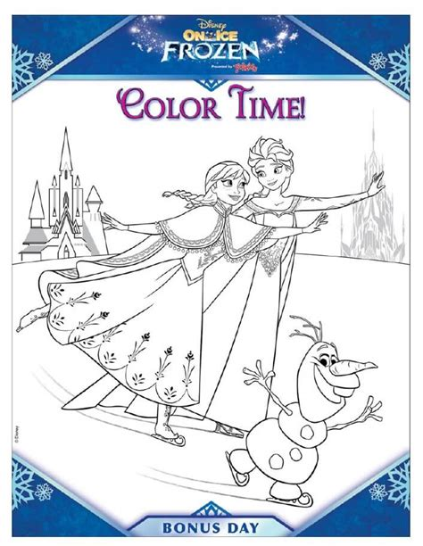 printable frozen activity book disney frozen activity pages from disney on ice