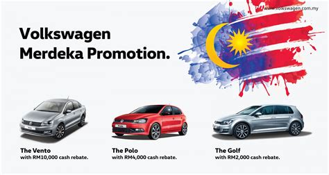 volkswagen malaysia new year promotion volkswagen malaysia celebrates merdeka with promotions and