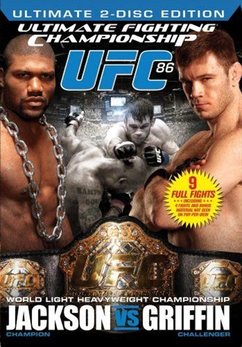 Rage Jackson Vs Forrest Griffin Ufc Ultimate Fighting Chionship 86 Rage Jackson Vs Forrest Griffin 2008 On Collectorz