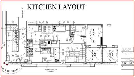 restaurant kitchen layout plan architecture pinterest