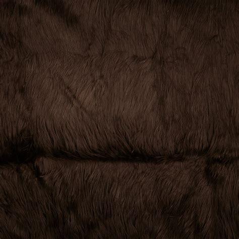 faux fur upholstery fabric faux fur gorilla brown discount designer fabric fabric com