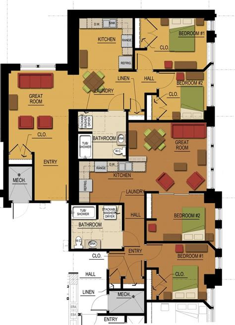do it yourself kitchen design layout 17 best images about mall apartment buildings on bedroom floor plans bedroom