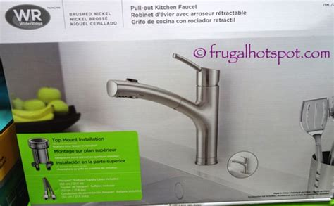 water ridge kitchen faucets costco sale water ridge style pull out kitchen