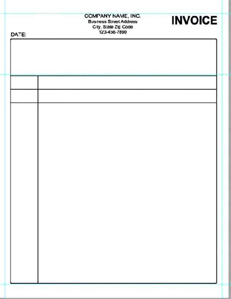blank business invoice template 28 images blank