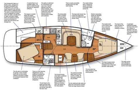 interior design layout sle c445 floorplan boats catalina 445 pinterest