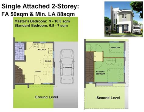 house design plans 50 square meter lot phoebe house model of avida village iloilo by avida land