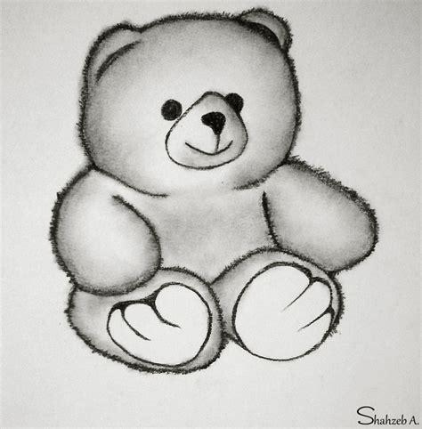 adorable teddy bear by shaixey on deviantart