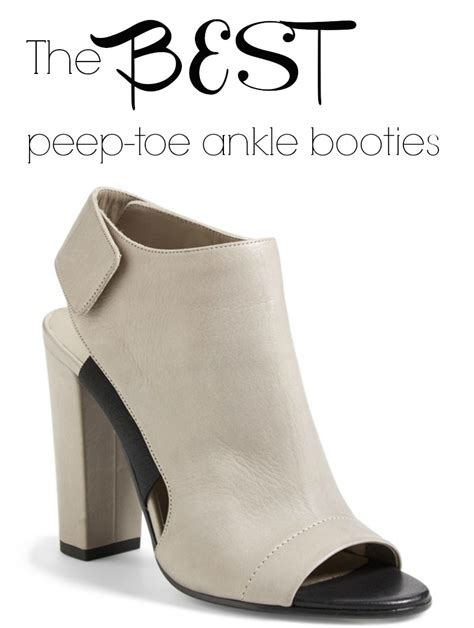 best ankle booties the best peep toe ankle booties connecticut in style