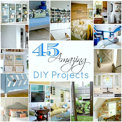 diy home projects crafts 45 amazing diy projects