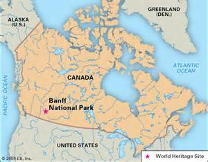 Map Of Banff Canada by Where Is Banff In Canada Map