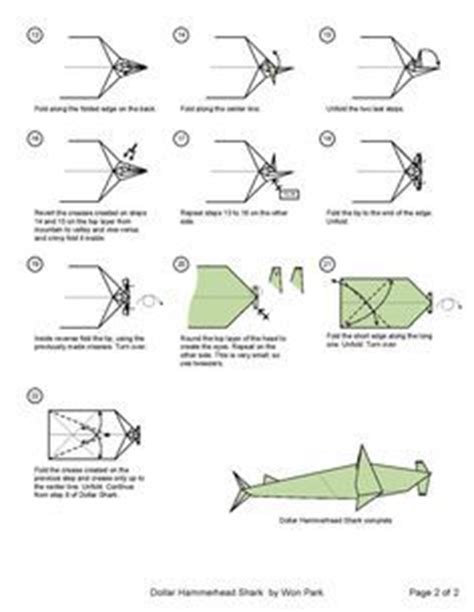 Dollar Origami Shark - 102 best images about free schematics on colt