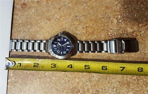 Rare blue Citizen Promaster PMT56 monocoque titanium