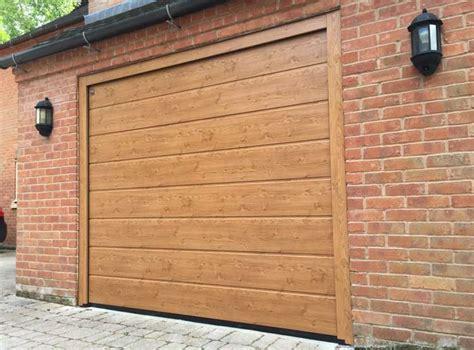 Hormann Garage Door by Hormann Lpu 40 M Rib Winchester Oak